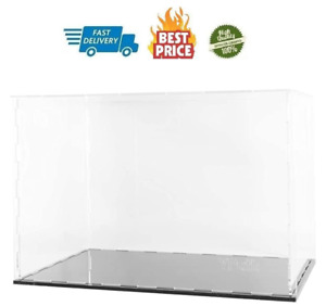 Clear Acrylic Display Case assemble Countertop Box For Display clear Display Box