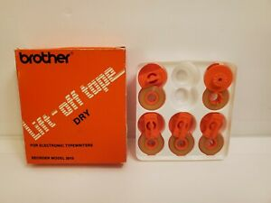 Five Brother Vintage Lift off Correction Tape Dry For Electric Typewriters 3015