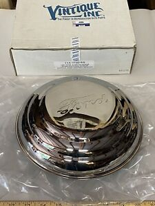 Vintique 1941 Ford Passenger And 1942 Pickup Truck Hubcaps Stainless Steel X4