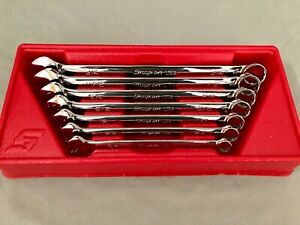 Snap On 7 Piece Flank Drive Wrench Set Soex707 Vg