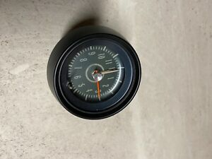 67 68 69 Gm Camaro Firebird Rare Console Clock Restored Trans Am Ss Rs Z28