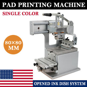 Manual Pad Printer Pad Printing Machine Label Logo Diy Transfer Us Free Shipping