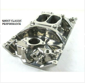 Small Block Chevy 327 350 383 Vortec Intake Manifold Polished Bpe 4004p