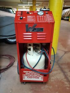 White Industries 01060 R 12 Ac Refrigerant Recovery Recycling Center Machine