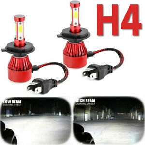 H4 Hb2 9003 4 sided Led Headlight Kit Cree 6000w 1000000lm Hi lo Beam Power Bulb