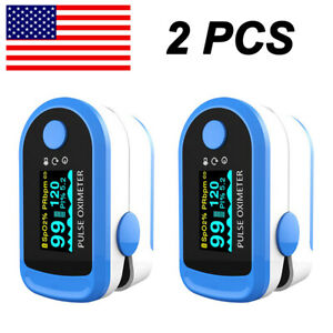 Led Finger Pulse Oximeter Blood Oxygen Meter Spo2 Monitor O2 Heart Rate Blood