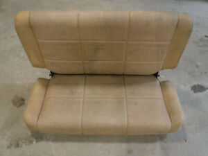 Jeep Wrangler Tj Flip Fold Rear Seat 97 02 Saddle Vinyl