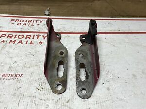 92 01 Honda Civic Crv Cr v Hood Support Hinge Hinges Left Right Set Oem 2780