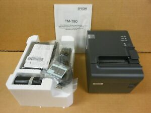 New Epson Tm t90p 024 Ethernet Receipt Printer 2 Available
