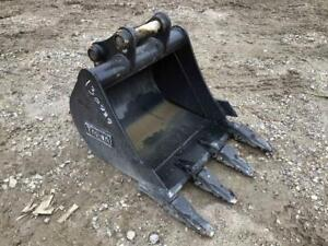 New Diesel 24 Excavator Tooth Bucket Fits Cat 303 304 Deere 35d 35g S 603362
