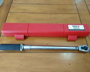 Matco Tools Torque Wrench Trb100 3 8 Drive 10 100 Ft Lbs With Case