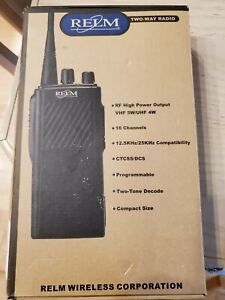 Relm Two way Radio rpu416a New In Box