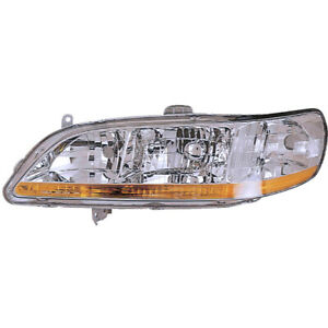 For Honda Accord 1998 1999 2000 Left Driver Side Headlight Assembly