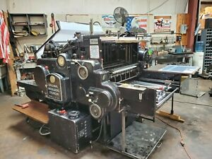 Heidelberg Sbb Cylinder 22 x 32 1 4 Die cutter In Fully Re conditioned