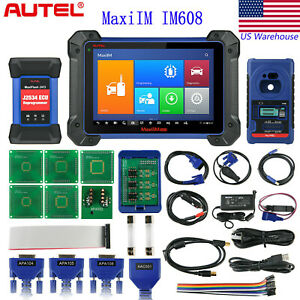 Autel Maxiim Im608 Obd2 Car Diagnostic Tool Scan Immo Key Programming Ecu Coding
