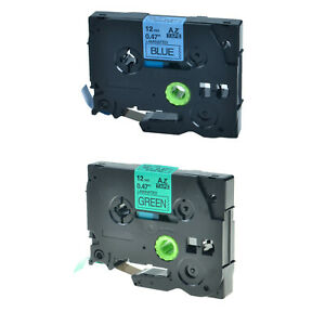 2pk Tze Tz 231 731 Label Tape For Brother P touch Pt 1170s Pt 1180 Pt 1190 1170
