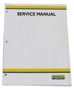 New Holland 5640 6640 7740 7840 8240 8340 Sl sle Series Tractor Service Manual