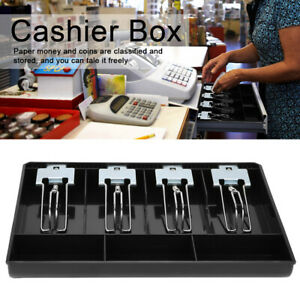 Cash Register Till Insert Tray Replace Coins Cashier Drawer Box Supermarket Us