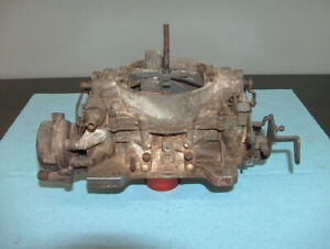 1965 Buick Nailhead 401 425 V8 Carter Afb Carburetor 4 Barrel 3923s Carb 4 Parts