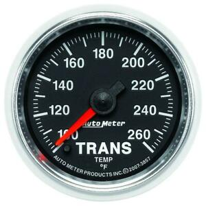 Autometer Gs 100 260 Degree Electronic Trans Temperature Gauge