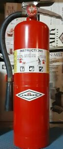 Amerex 4 a 60 b c Rechargeable Fire Extinguisher Red 10 Lbs