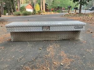Challenger Diamond Plated Left And or Right Side Truck Bed Utility tool Box