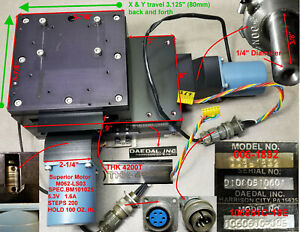 Positioning System X Y Motorized Stage Travel 3