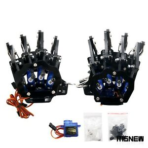 Mechanical Claw Clamper Gripper Arm Fingers Right Hand Left Hand With Servos