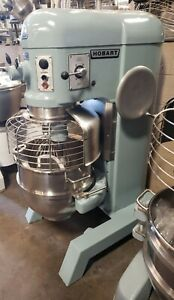 Hobart H600t 60 Qt Mixer With Timer Bowl Guard And Attachments