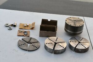 6 Northfield Precision 3 Jaw Pneumatic Chuck With Xtra Jaws