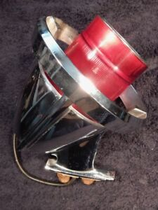 1961 Chrysler Imperial Chrome Taillight Assembly Part 2093984 Vintage