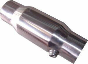 Ram 100 Cell High Flow Catalytic Converter 3 In out Metal Core Stainless Steel