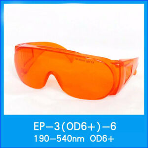 Laser Safety Glasses Od6 190 540nm 488 532nm Wide Spectrum Continuous Absorption