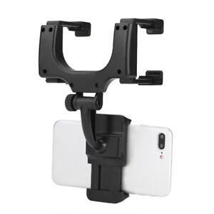 Car On Rear View Mirror Mount 5 9cm Phone Gps Stand Brace Sh