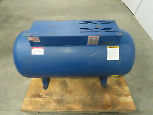 60 Gallon Horizontal Compressed Air Receiver Tank W top Plate 200 Psi 450 F