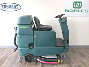 Tennant nobles Speed Scrub Rider 32 Floor Scrubber New 235 Ah Batteries