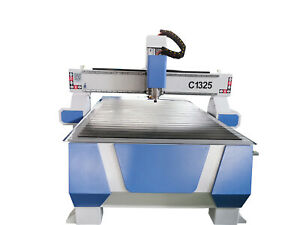 Oem 3kw Wood Cnc Router Engraving Drilling Machine Water Cooling 8ft 4ft 1325