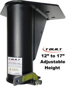 T Built 12 17 Adjustable 5th Wheel Rv To Gooseneck Adapter Hitch With 7 3 4 O