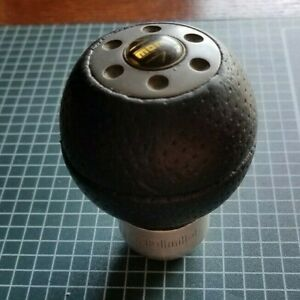 Momo Race Airleather Shift Knob Racair Leather Ball Vintage Look Dsm Honda Subur