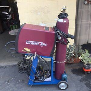 Tweco Fabricator thermal Arc 211i Mig Tig Stick Welder Complete Package