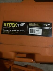 New Stockade Impulse St 315i Cordless Fence Stapler Schematic And Parts
