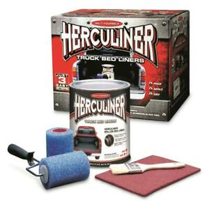 Herculiner Truck Bed Liner Kit 1 Gallon