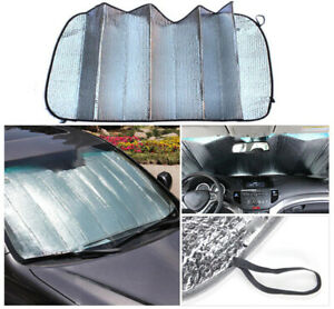Auto Car Sun Shade Foldable Reflective Visor For Windshield Rear Window Block Uv