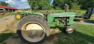 John Deere 1010 Tractor Crawler Running Engine Only 1 parting Out Farmerjohns