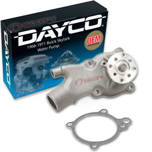 Dayco Water Pump For Buick Skylark 1968 1971 4 1l L6 Engine Tune Up Hq