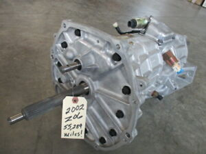 02 Z06 Corvette Six Speed Transmission 55 289 Miles T56 Oem C5 97 04 Ls6 Ls1