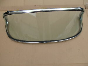 56 62 Corvette New Windshield 3 245 Frame W Glass Complete Tinted Trim