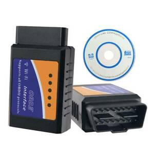 Elm327 Bluetooth Obd2 Obdii Wifi Interface Car Diagnostic Tool Scanner Reader