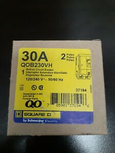 Square D Qob230vh 2 Pole 30 Amp 3 Breakers