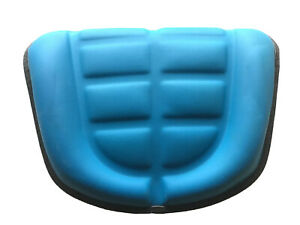 Tisco Blue Waffle Seat Cushion For Ford New Holland Tractors